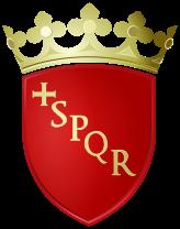 Znak Říma - Senatus Populusque Romanus (Senát a lidé Říma)
