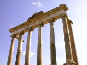 Saturnův chrám na Forum Romanum